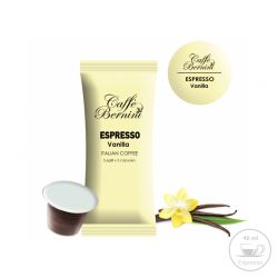 Κάψουλες Bernini Caffe Espresso με Άρωμα Βανίλια