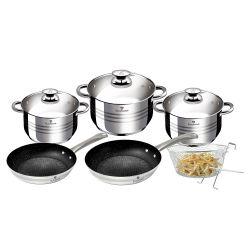 Σετ μαγειρικών σκευών Blaumann Jumbo 10 τμχ BL-3243