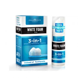 Αφρός Λεύκανσης Δοντιών Stella White SW-WFO