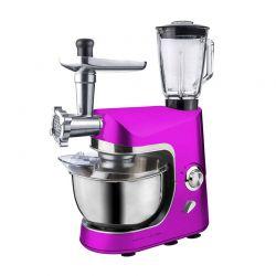 Kουζινομηχανή 3 σε 1 Royalty Line Χρώματος Ροζ RL-PKM1800BG