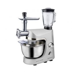 Kουζινομηχανή 3 σε 1 Royalty Line Χρώματος Γκρι RL-PKM1800BG