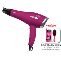 Πιστολάκι Μαλλιών AEG Χρώματος Ροζ HT5580