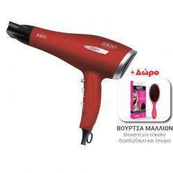 Πιστολάκι Μαλλιών AEG Χρώματος Κόκκινο HT5580