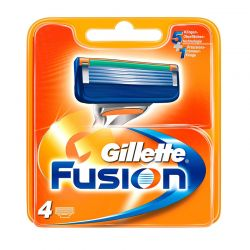 Ανταλλακτικές Κεφαλές Gillette Fusion 4 Τεμάχια Fusion4GLT