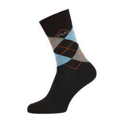 Κάλτσες Business (5 ζευγάρια) Versace 1969 Χρώματος Μαύρο-Μπλε C180