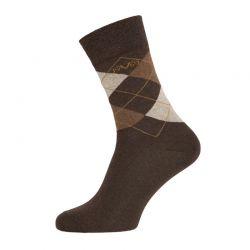 Κάλτσες business (5 ζευγάρια) Versace 1969 χρώματος καφέ C174