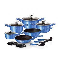 Σετ Μαγειρικών Σκευών Berlinger Haus 15 τμχ Royal Blue Edition BH-1659N