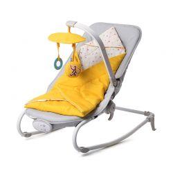 Παιδικό Ρηλάξ Χρώματος Κίτρινο KinderKraft Felio