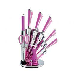 Σετ 9 Μαχαιριών Imperial Collection Χρώματος Ροζ IM-KST2 PINK