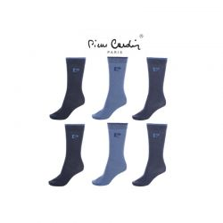 Σετ 6 Ζευγάρια Ανδρικές Κάλτσες Pierre Cardin PGNV