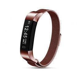 Ρολόι Fitness Tracker Aquarius με Μεταλλικό Λουράκι Χρώματος Bronze R158037