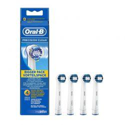 Ανταλλακτικά Βουρτσάκια Oral-b Precision Clean για Οδοντόβουρτσες 4τμχ. OLB-PRC-HDS