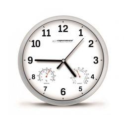 Ρολόι Τοίχου Esperanza Χρώματος Λευκό EHC016W