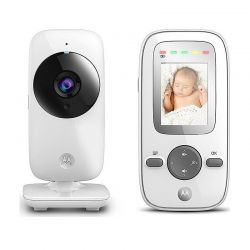"""Συσκευή Παρακολούθησης Μωρού με Έγχρωμη Οθόνη 2"""" Motorola MBP481"""