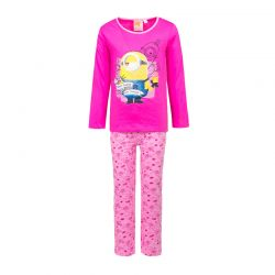 e795b40d473 Παιδικές Πυτζάμες Χρώματος Φούξια Minions Disney ph2121