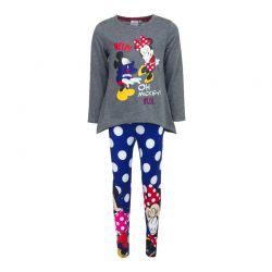 7103b4d074 Παιδικό Σετ Μπλούζα - Κολάν Minnie και Mickey Disney DHQ1095