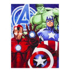 cca90a2a69f Παιδική Κουβέρτα Fleece Μονή 90 x 120 cm Χρώματος Κόκκινο Avengers Disney  HQ4350