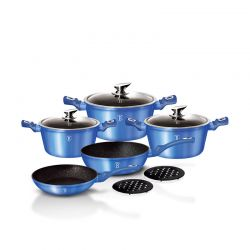 Σετ Μαγειρικών Σκευών Berlinger Haus 10 τμχ Royal Blue Edition BH-1658N